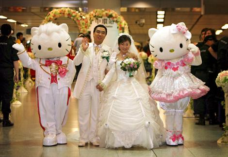 Hello Kitty Goodbye Classy Wedding Posted January 20 2012 Author Dell